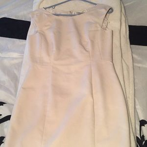 H&M size 10 beige dress